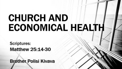 CHURCH AND ECONOMICAL HEALTH